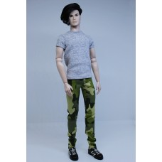 Skinny Jeans - Camo - HOMME